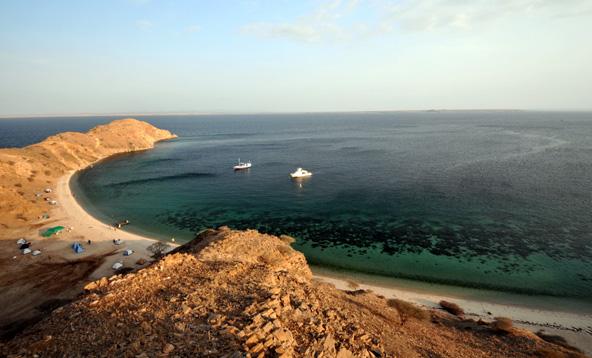 חוף בים האדום באריתריאה