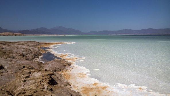 אגם המלח אסאל בג'יבוטי
