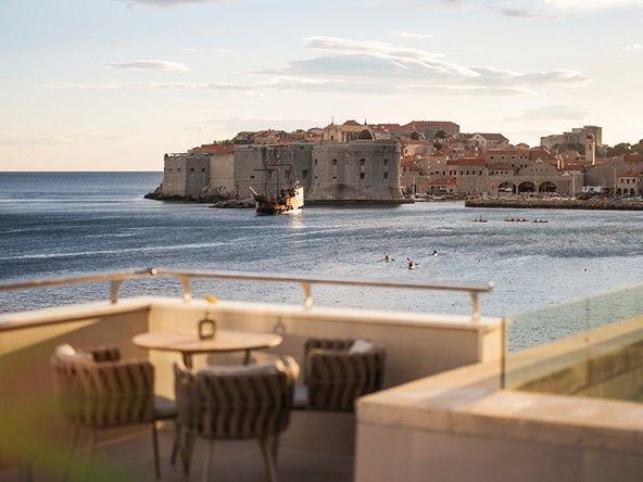 מלון Excelsior בדוברובניק. נוף לים ולעיר העתיקה | צילום: באדיבות Adriatic Luxury Hotels