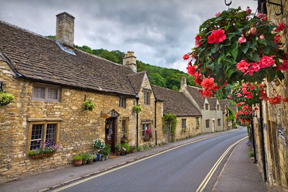 הכפרים הכי יפים בבריטניה