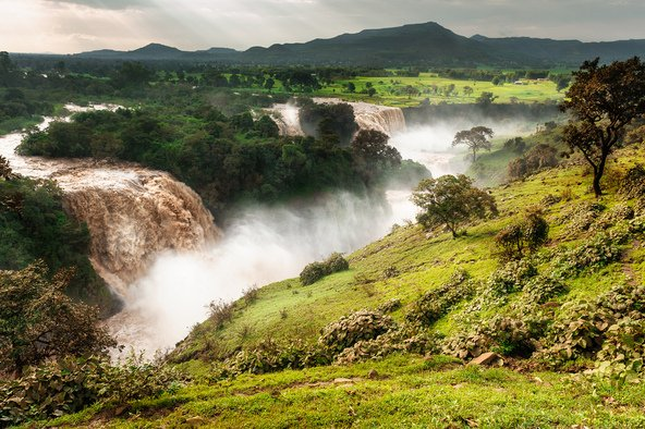 מפלי הנילוס הכחול באתיופיה