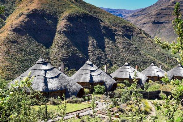 כפר טיפוסי בלסוטו