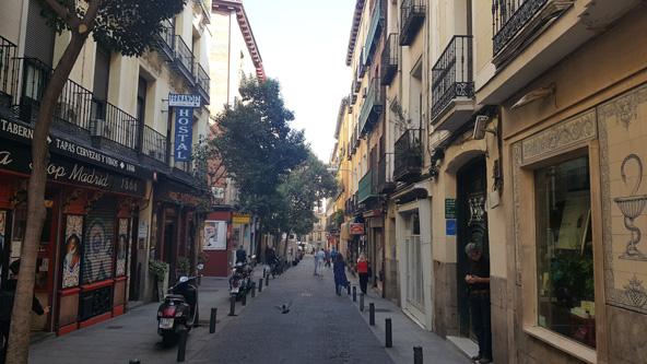 סמטה עתיקה ומלאת קסם. מדריד נכנסת ללב מהרגע הראשון | צילומים בכתבה: ליהי רון
