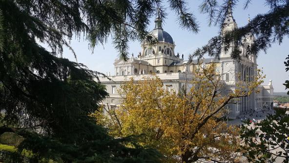 מדריד עמוסה בארמונות מלכותיים וקתדרלות מפוארות