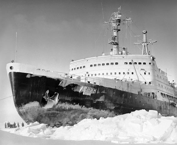 שוברת הקרח האטומית לנין. מסע אל העבר