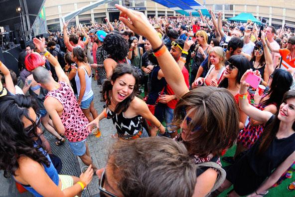 פסטיבל סונאר המקיים בברצלונה בכל קיץ