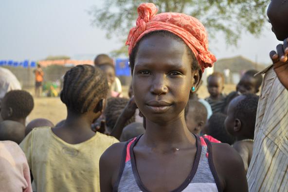 ילדים במחנה פליטים בדרום סודאן, מדינה צעירה ומוכת מלחמות
