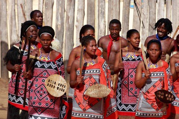 מפגש עם התרבות המקומית בסוואזילנד