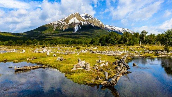 נוף בפארק הלאומי ארץ האש