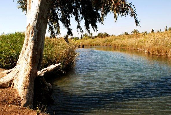 פארק המעיינות, אזור שופע מים לא רחוק מבית שאן