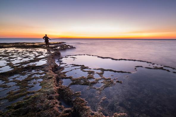 שקיעה בחוף אכזיב, אחד החופים היפים בארץ