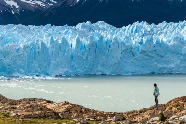 קרחון פריטו מורנו התנפץ – צפו בסרטונים
