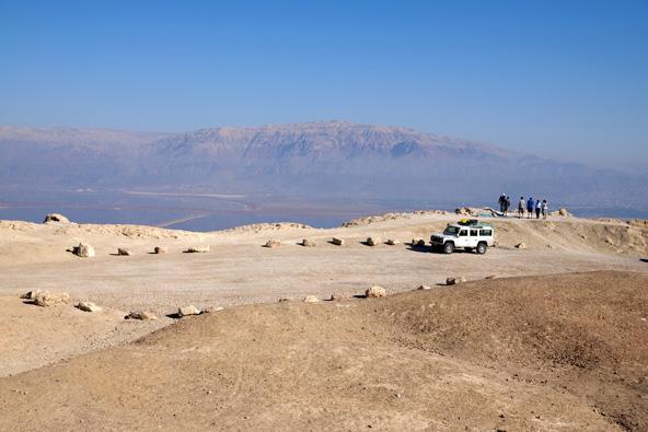 עצירה לתצפית על מדבר יהודה וים המלח