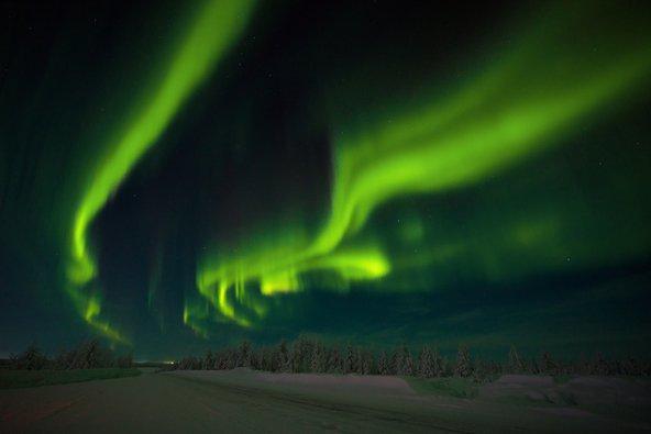 בלילות חשוכים ונקיים מעננים יש סיכוי שתוכלו להגשים חלום ולצפות בזוהר הצפוני
