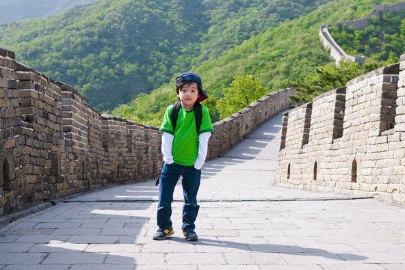טיפוס על החומה הסינית הוא חוויה בלתי נשכחת לילדים | צילומים: שאטרסטוק