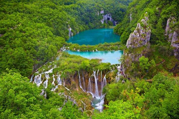 שמורת אגמי פליטביצה, משמורות הטבע היפות באירופה