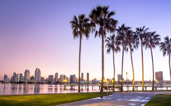 סן דייגו. אל היעד האטרקטיבי בדרום קליפורניה אפשר יהיה להגיע בטיסות ישירות מפרנקפורט או מציריך