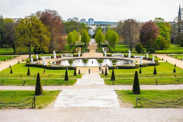 הגנים של ארמון סנסוסי