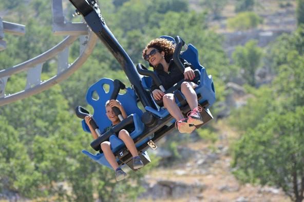 ריגושי קיץ בחרמון. סקיי ריידר, האטרקציה החדשה באתר החרמון | צילום: סטודיו גולן