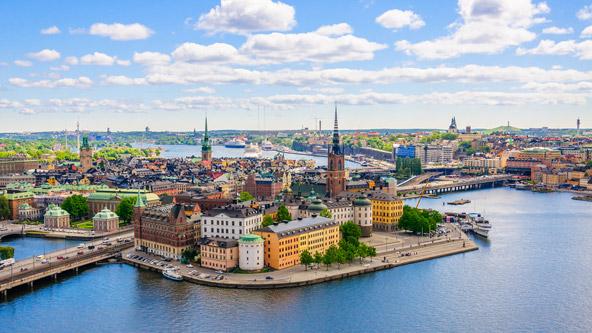 גמלה סטאן, העיר העתיקה של שטוקהולם היא בת יותר מ- 800 שנה