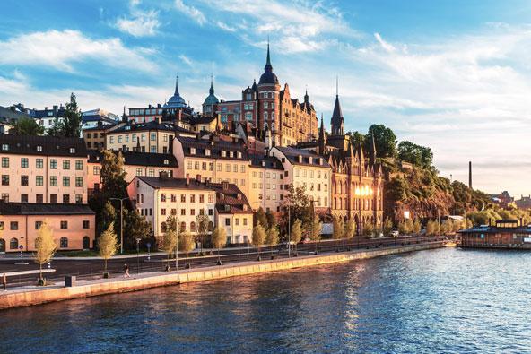 שטוקהולם, בירת שוודיה, משלבת באופן מושלם בין חדש לישן