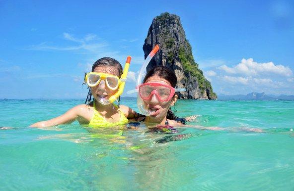 החופים המושלמים של דרום תאילנד הם יעד מושלם לבלות בו חופשה משפחתית