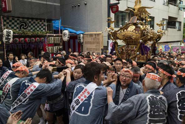 פסטיבל קאנדה מאצורי בטוקיו