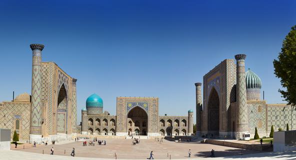 כיכר רג'יסטאן בסמרקנד, מופת של אדריכלות אסלאמית