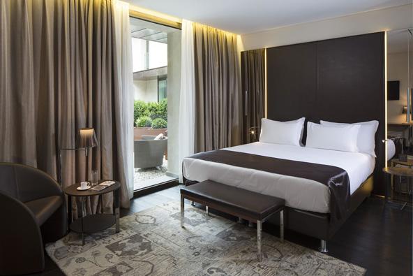 חדר במלון סן לורנזו | הצילום באדיבות Hotel Relais San Lorenzo