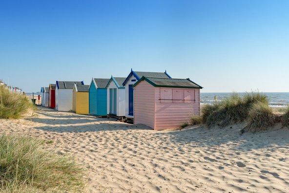 בקתות על החוף בסאפוק