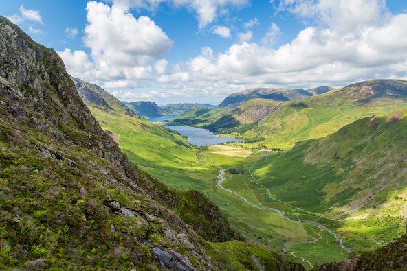 הנופים של אזור האגמים הם מהיפים באנגליה