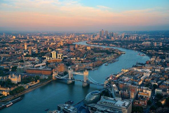 תצפית פנורמית על לונדון, מהערים הנהדרות בעולם