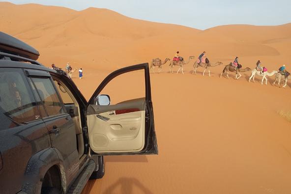טיול ג'יפים במרוקו: בין הר למדבר