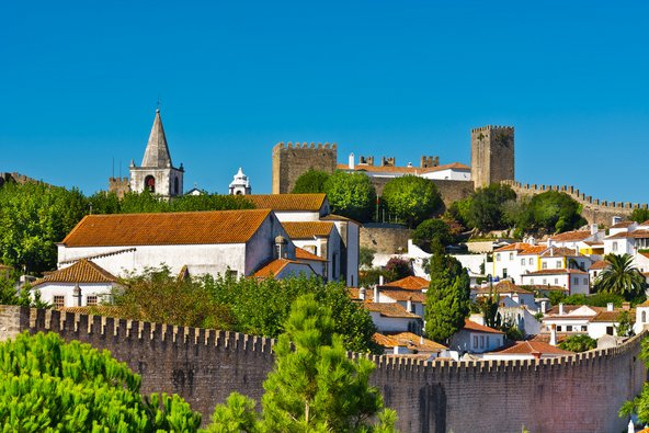 העיירה הימי ביניימית אובידוש, מהיפות בעיירות פורטוגל