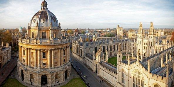 הספרייה הבודליאנית באוניברסיטת אוקספורד