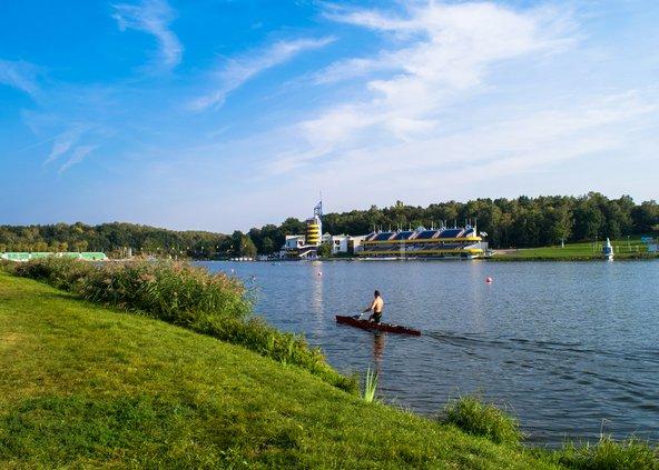 אגם מלטה, אזור הנופש החביב על תושבי העיר
