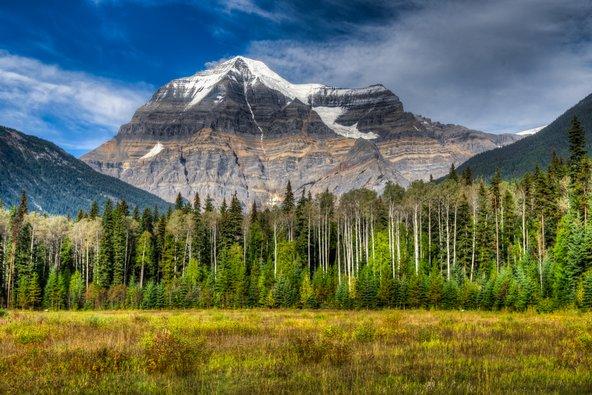 הר רובסון, הגבוה ברוקיס הקנדיים