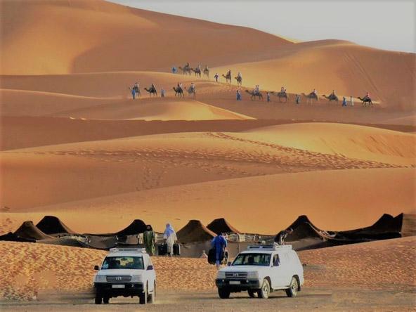 דיונות מרגוזה. מרוקו מסחררת עם נופים שנעים בין הר, ים ומדבר | הצילומים באדיבות תגליות