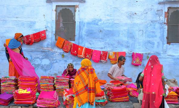 שוק בגיידפור, העיר הכחולה