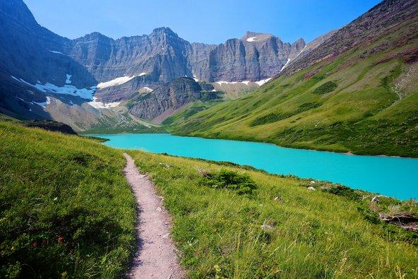הנופים בשביל קו פרשת המים בארצות הברית יפים להפליא