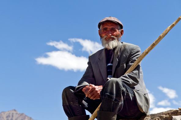 רועה טג'יקי בהרים
