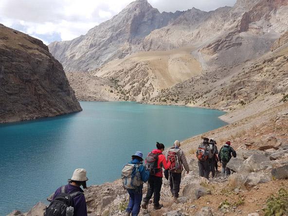 הטרק בהרי פמיר מיועד למטיבי לכת | צילום: ג'אן שי דניז