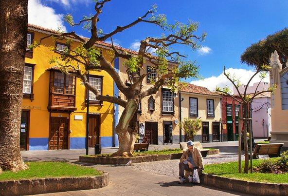 רחוב בסן כריסטובל דה לה לגונה, אחת הערים היפות בטנריף