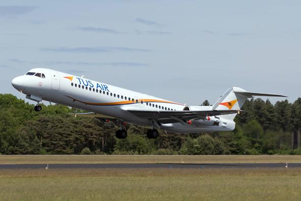 טוס איירווייס: טיסות ליואנינה ביוון