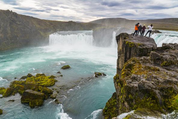 גודפוס, מפל האלים, אחד מאתרי הטבע הנפלאים של איסלנד