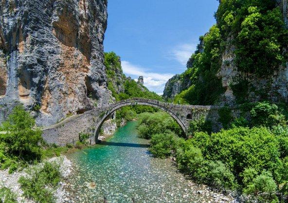 גשר אבן עתיק בחבל זגוריה