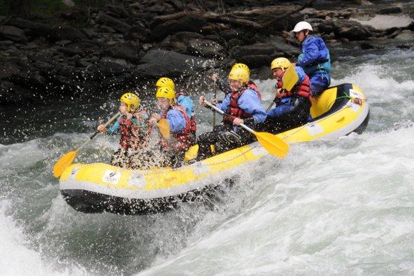 רפטינג בנהר הנוגרה פאיירסה | צילום: Aventura Pirineu_Turisme Pallars Sobirà