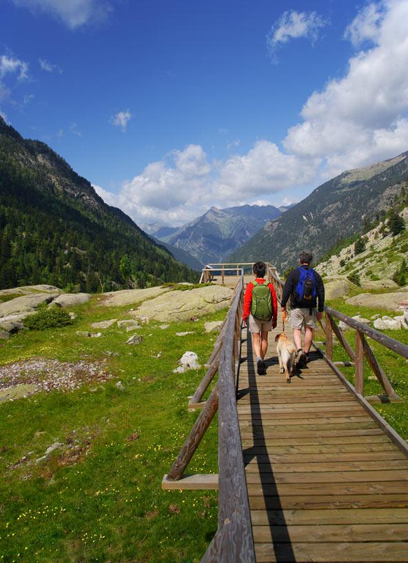 טיול הליכה בשמורת אייגואסטורטס | צילום: _Lluís Carro_Agència Catalana de Turisme