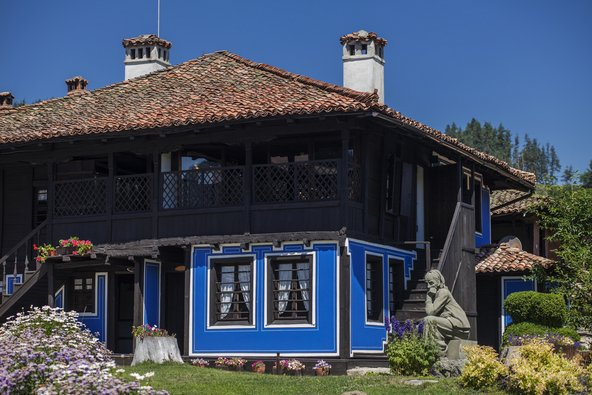 ארכיטקטורה ייחודית בעיירה קופריבשטיצה | צילום: Gergana Encheva / Shutterstock.com