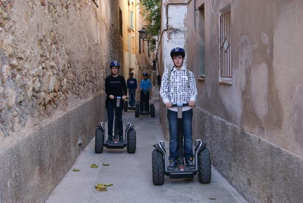 טיול סגוויי בסמטאות הרובע היהודי בטורטוסה   צילום:Turisme Tortosa©